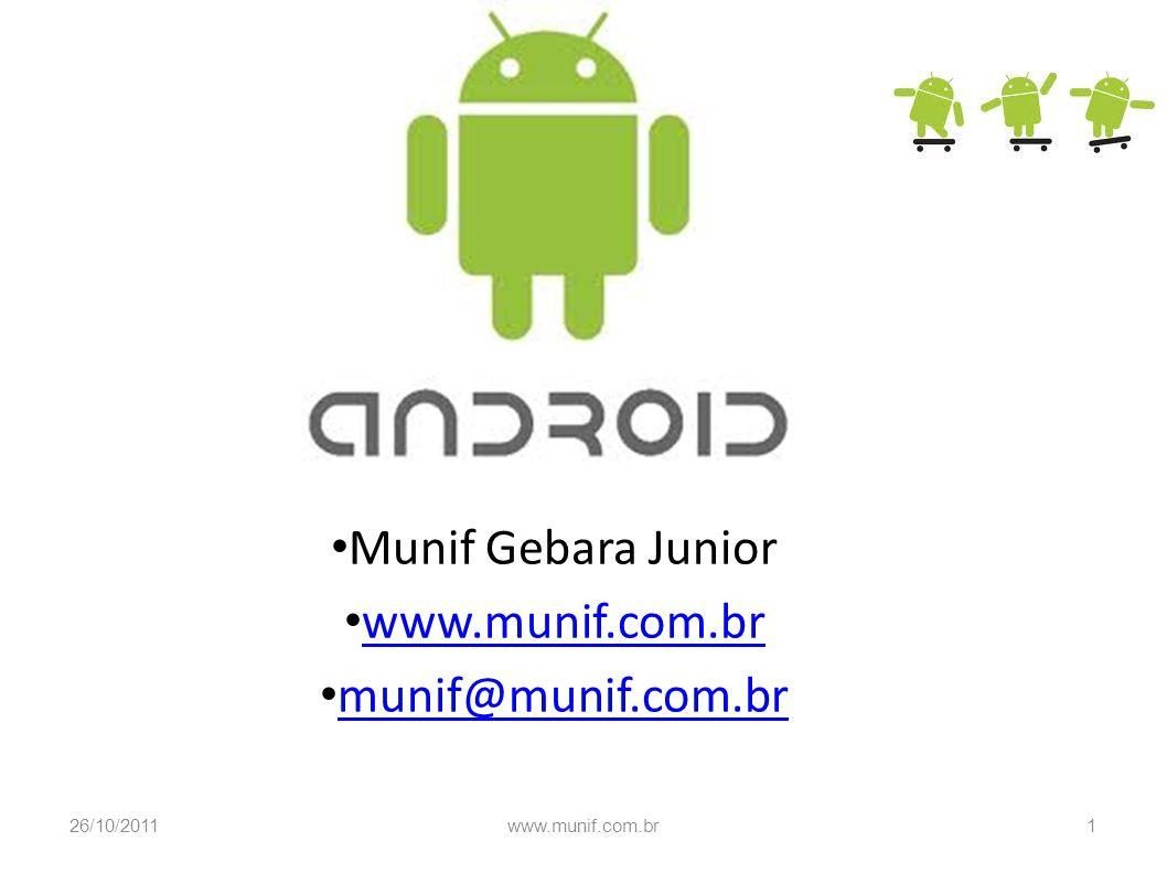 Munif Gebara Junior www.munif.com.br munif@munif.com.br 26/10/20111www.munif.com.br