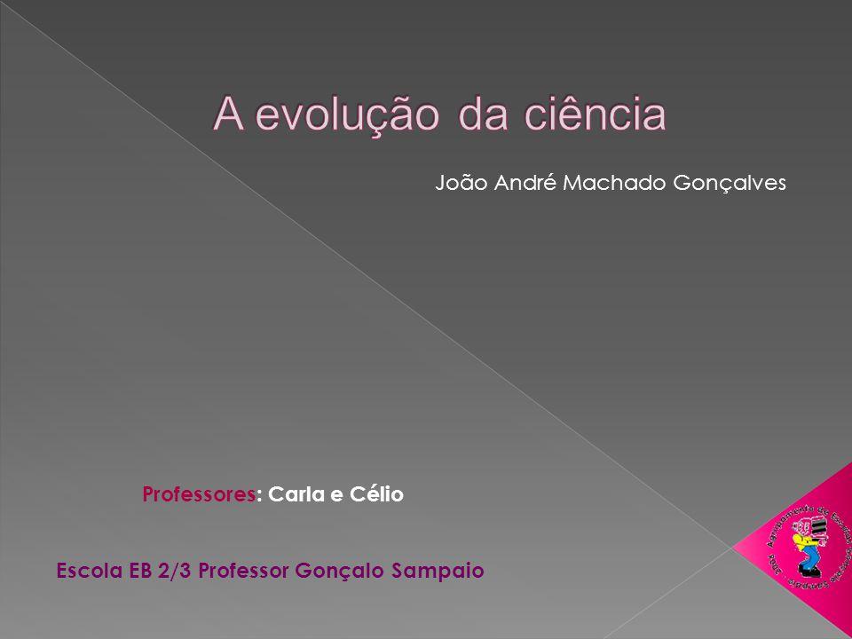 João André Machado Gonçalves Professores: Carla e Célio Escola EB 2/3 Professor Gonçalo Sampaio
