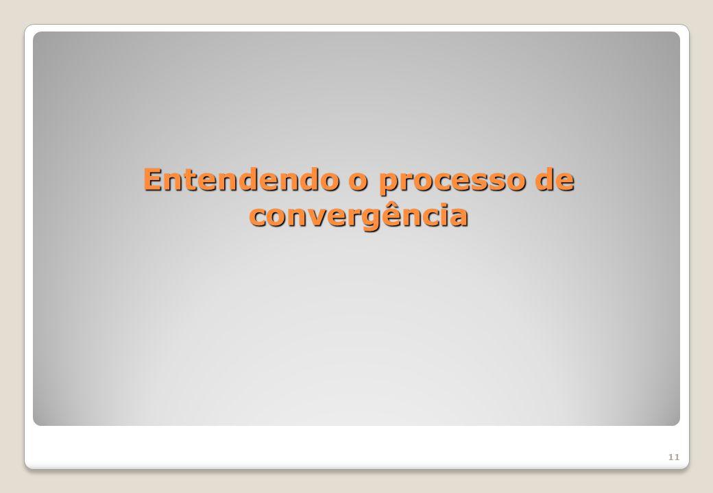 11 Entendendo o processo de convergência