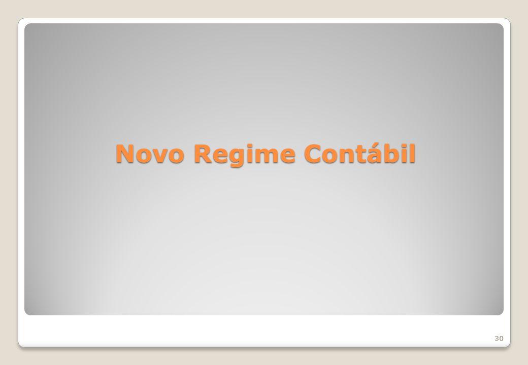 Novo Regime Contábil 30