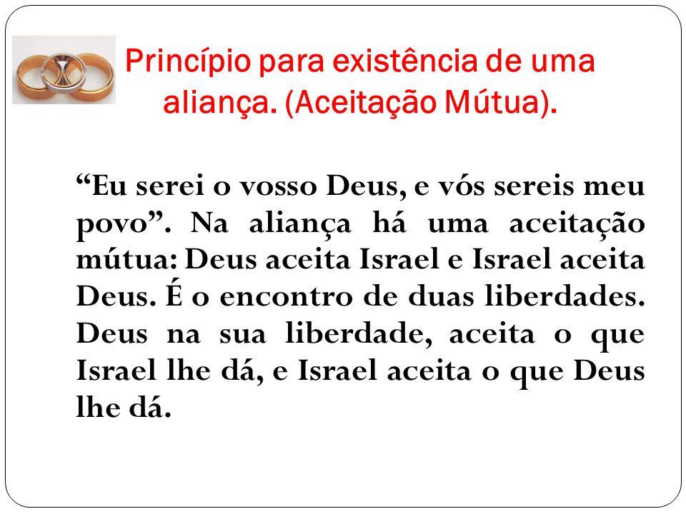 Compromisso Bilateral – Aliança de Deus com Israel Dt.26.