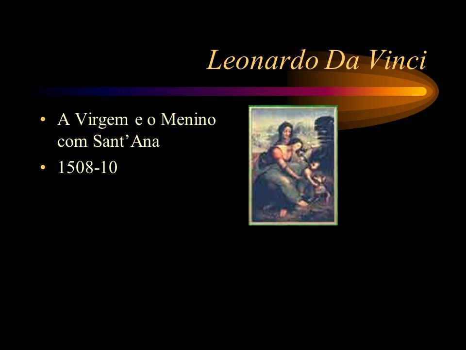 Leonardo Da Vinci Não se dizia pintor, mas sim engenheiro: –Sistemas de aquecimento –Dreno de pântanos –Confecção de mapas –Sistema de canais –etc
