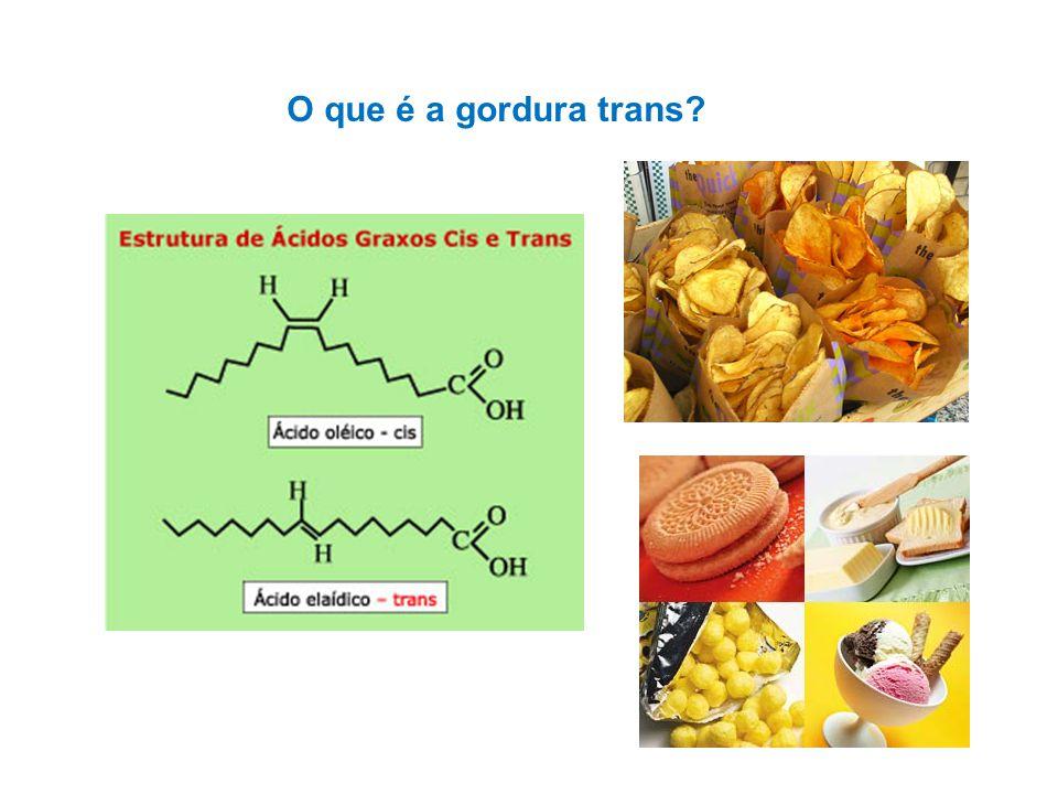 O que é a gordura trans