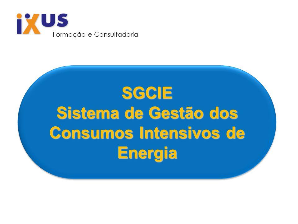 SGCIE Sistema de Gestão dos Consumos Intensivos de Energia Formação e Consultadoria