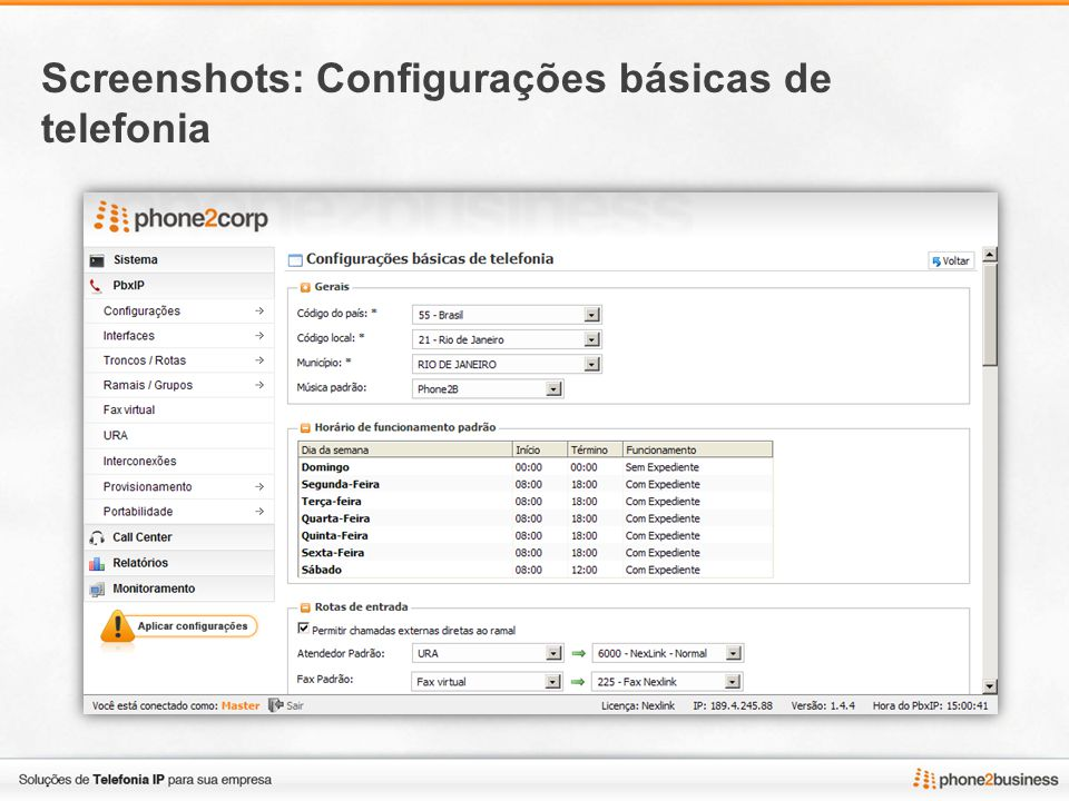 Screenshots: Troncos