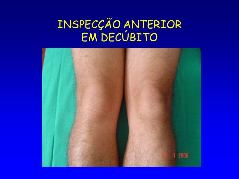 INSPECÇÃO ANTERIOR EM DECÚBITO