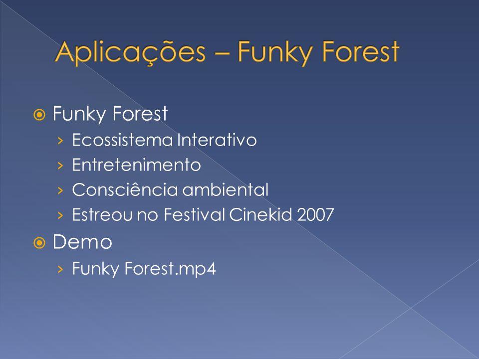 Funky Forest Ecossistema Interativo Entretenimento Consciência ambiental Estreou no Festival Cinekid 2007 Demo Funky Forest.mp4