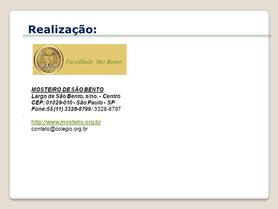 Realização: GRAND HOUSE CENTRO DE EVOLUÇÃO BIOPSICOSSOCIAL SS LTDA (Divisão de Ensino) Est.