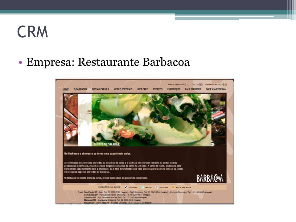 Empresa: Restaurante Barbacoa CRM