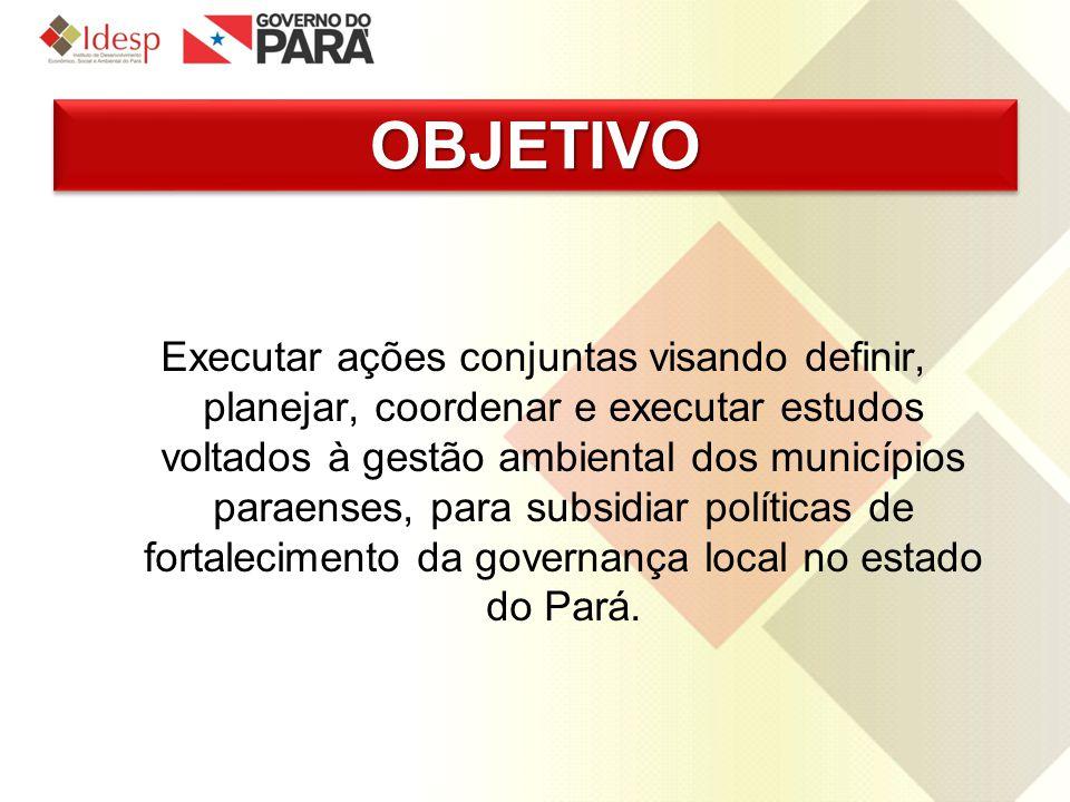 METASMETAS I.Diagnóstico da capacidade local para a gestão ambiental nos municípios do Estado do Pará quanto ao atendimento dos requisitos estabelecidos pela Resolução Coema nº079/2009 para Habilitação à Gestão Ambiental Municipal.