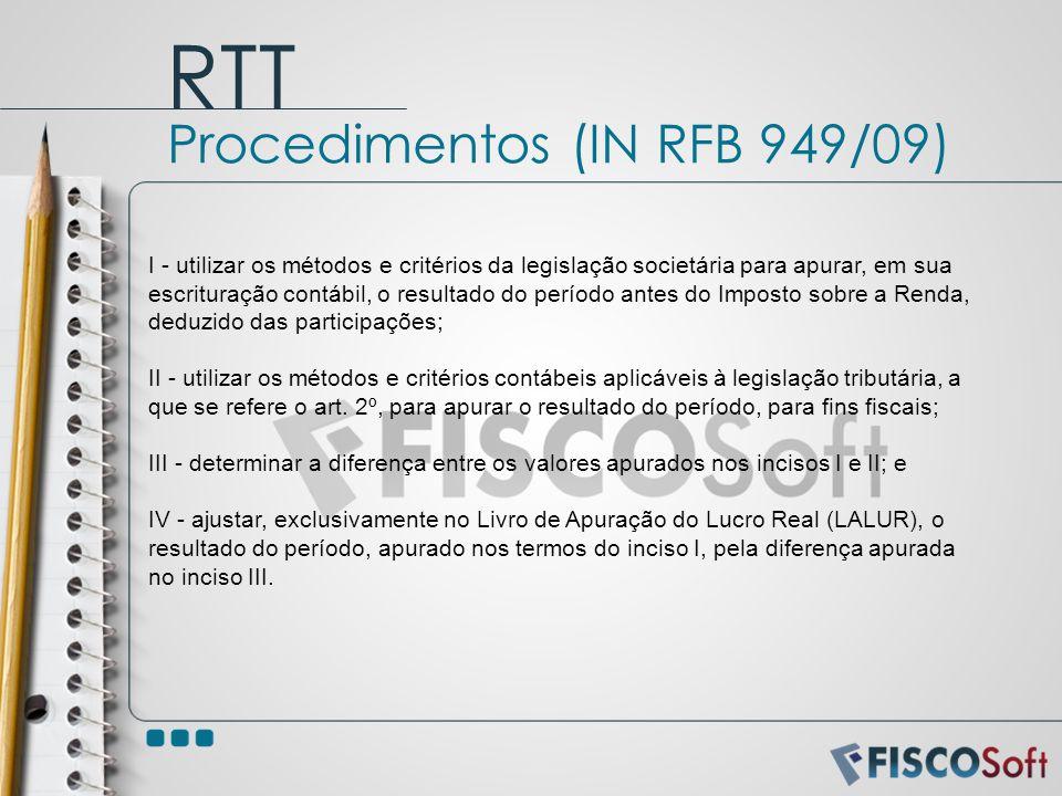 I - utilizar os métodos e critérios da legislação societária para apurar, em sua escrituração contábil, o resultado do período antes do Imposto sobre
