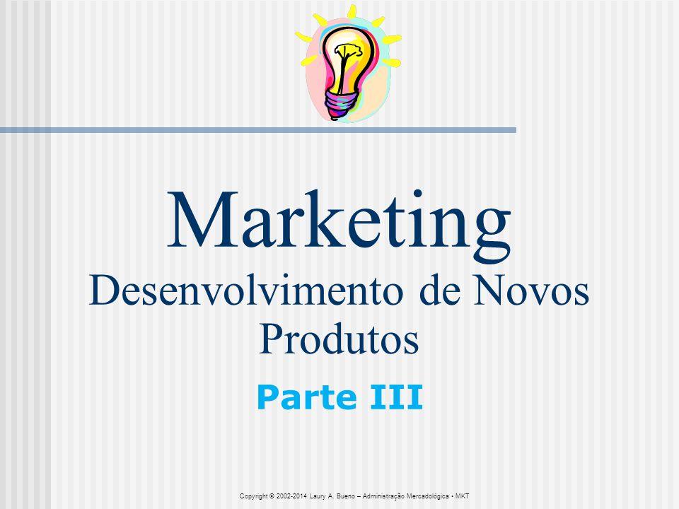 Marketing Desenvolvimento de Novos Produtos Parte III