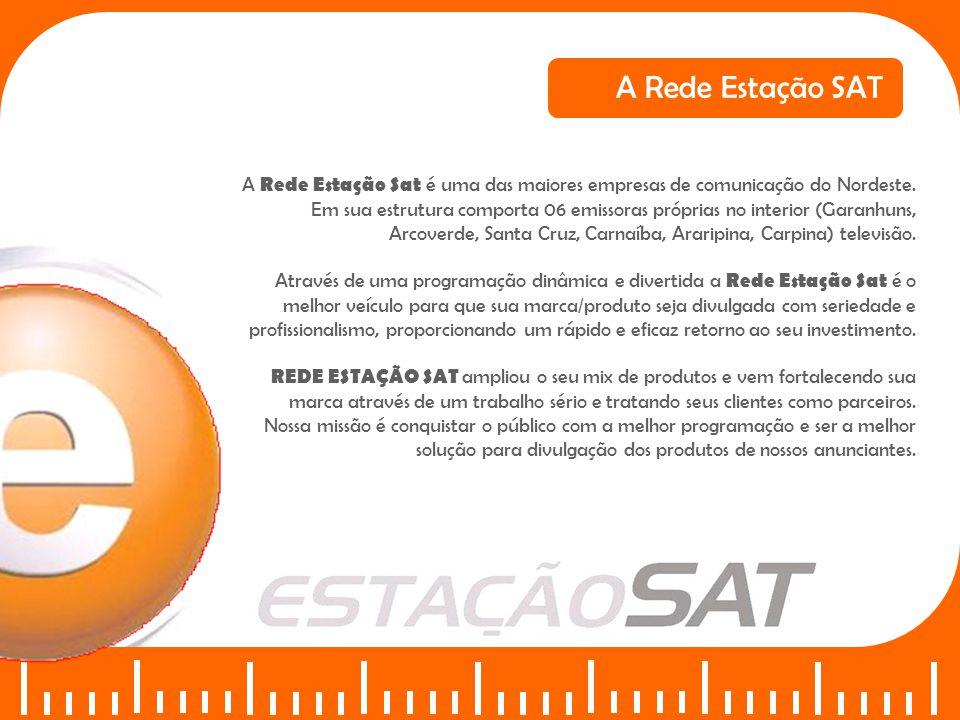 A Rede Estação Sat é uma das maiores empresas de comunicação do Nordeste. Em sua estrutura comporta 06 emissoras próprias no interior (Garanhuns, Arco