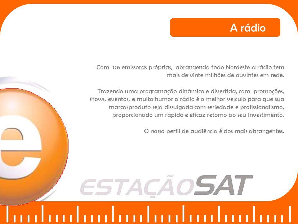 Perfil dos ouvintes da REDE ESTAÇÃO SAT A rádio
