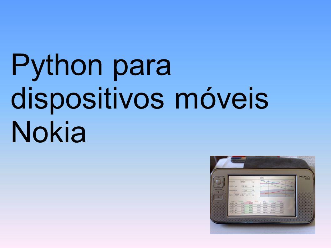 Python para dispositivos móveis Nokia