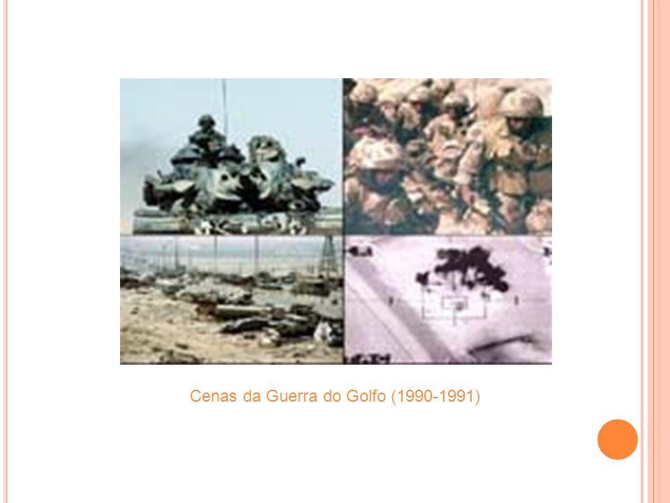 Cenas da Guerra do Golfo (1990-1991)