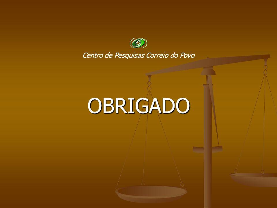 OBRIGADO Centro de Pesquisas Correio do Povo