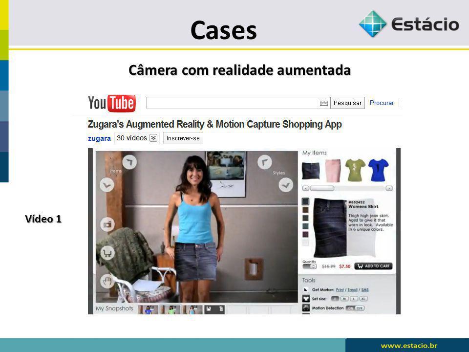 Cases Câmera com realidade aumentada Vídeo 1