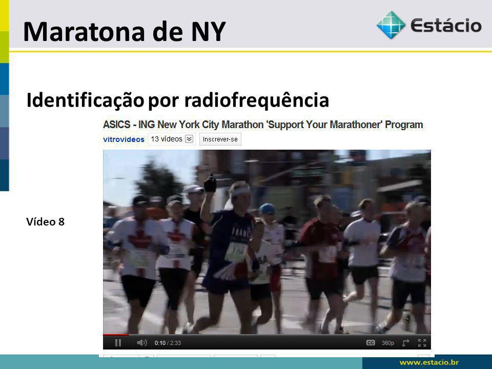Maratona de NY Identificação por radiofrequência Vídeo 8