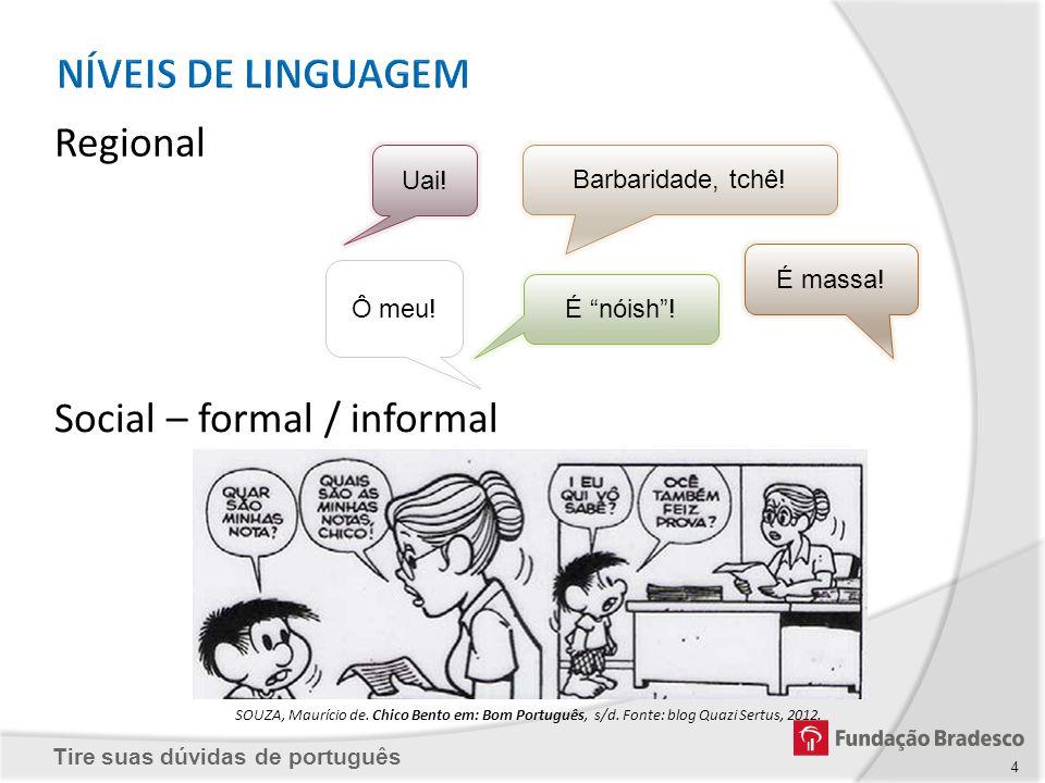 Tire suas dúvidas de português Aviso Fonte: Blog Tá Difícil..., 2012.Fonte: Blog Idade Certa, 2012.