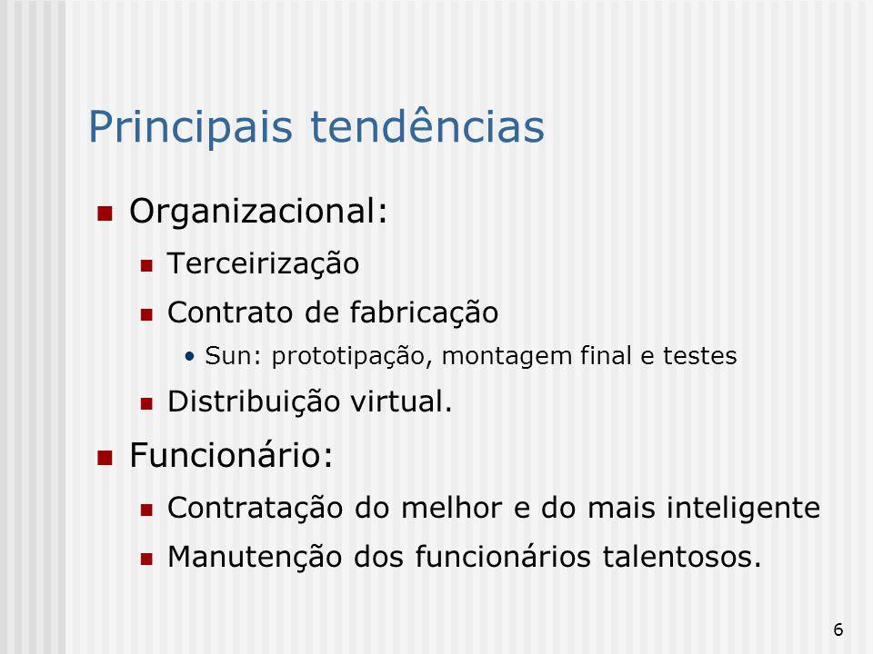 7 Tecnologia empresarial: Aplicações empresariais integradas Integração de múltiplos canais Middleware: suporte para a integração.