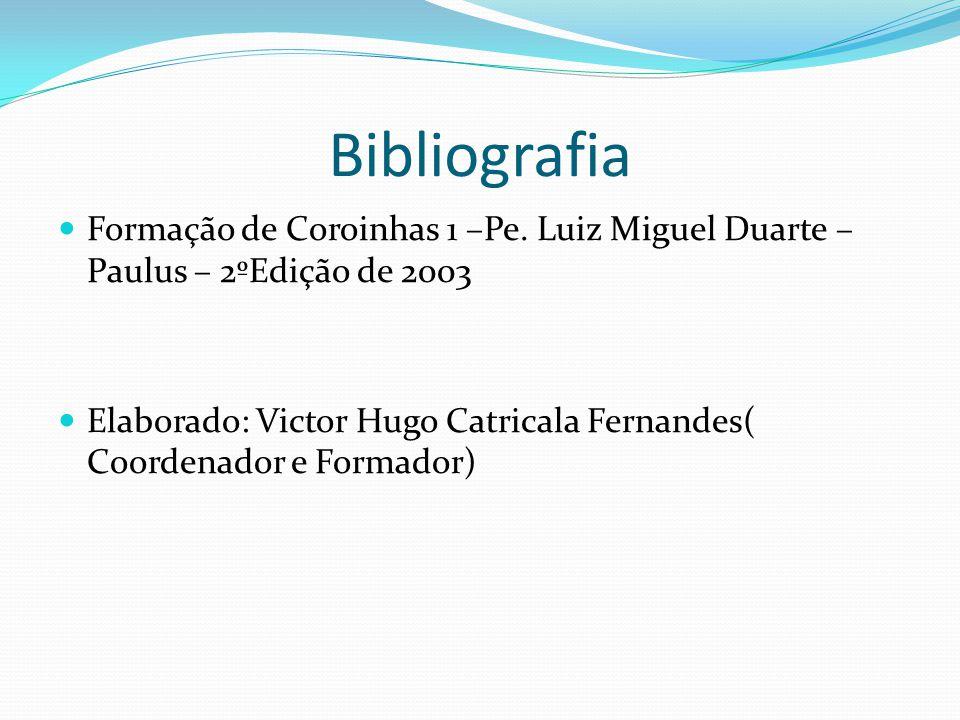 Bibliografia Formação de Coroinhas 1 –Pe.