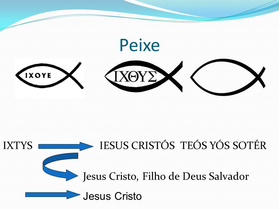 Peixe IESUS CRISTÓS TEÓS YÓS SOTÉRIXTYS Jesus Cristo, Filho de Deus Salvador Jesus Cristo