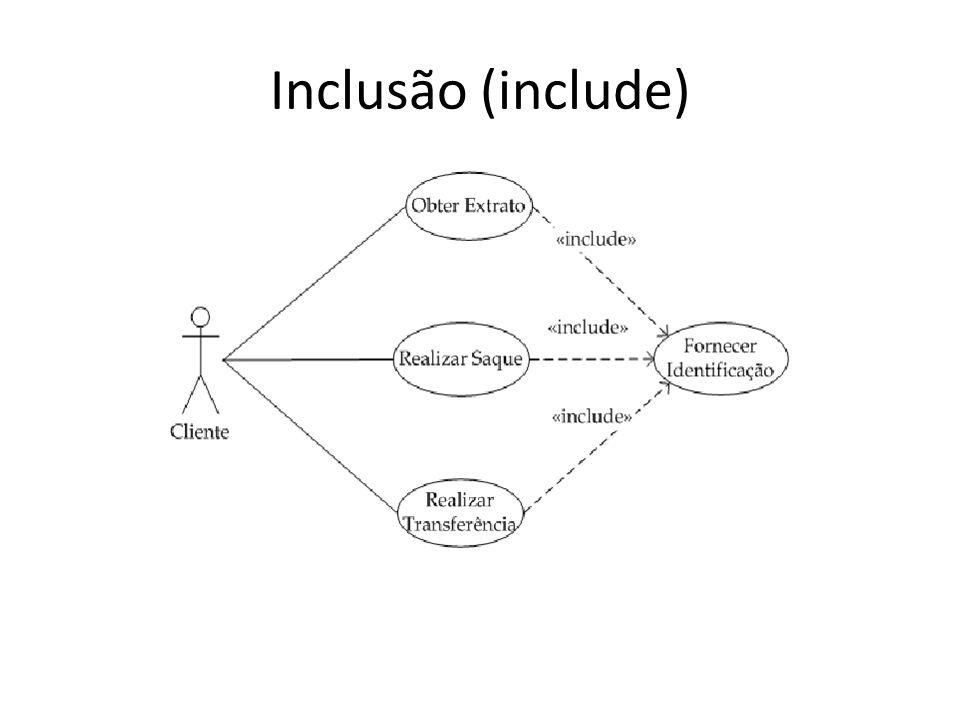 Inclusão (include)