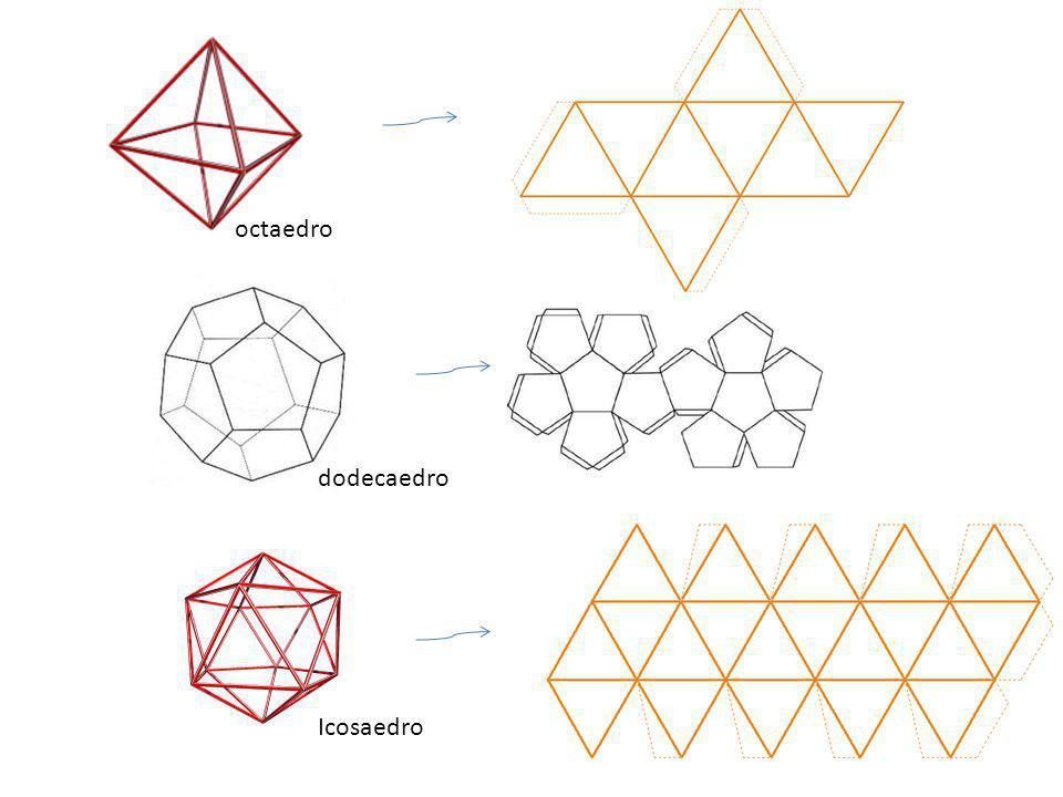 octaedro dodecaedro Icosaedro