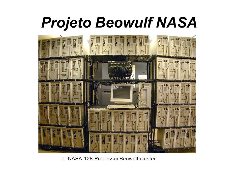 Projeto Beowulf NASA »NASA 128-Processor Beowulf cluster