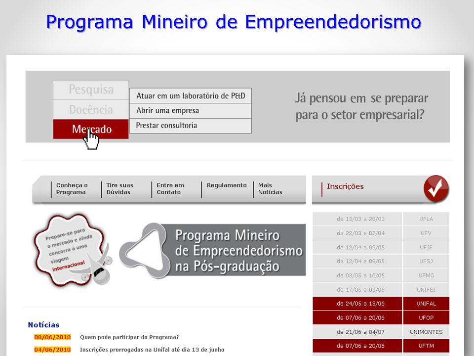 Programa Mineiro de Empreendedorismo