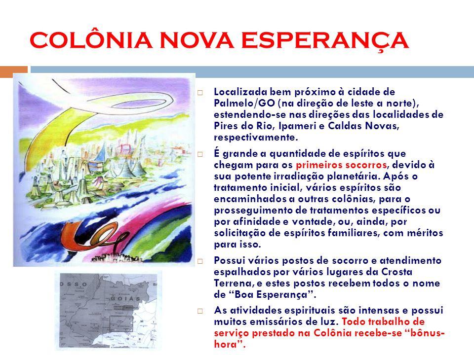 Localizada bem próximo à cidade de Palmelo/GO (na direção de leste a norte), estendendo-se nas direções das localidades de Pires do Rio, Ipameri e Caldas Novas, respectivamente.