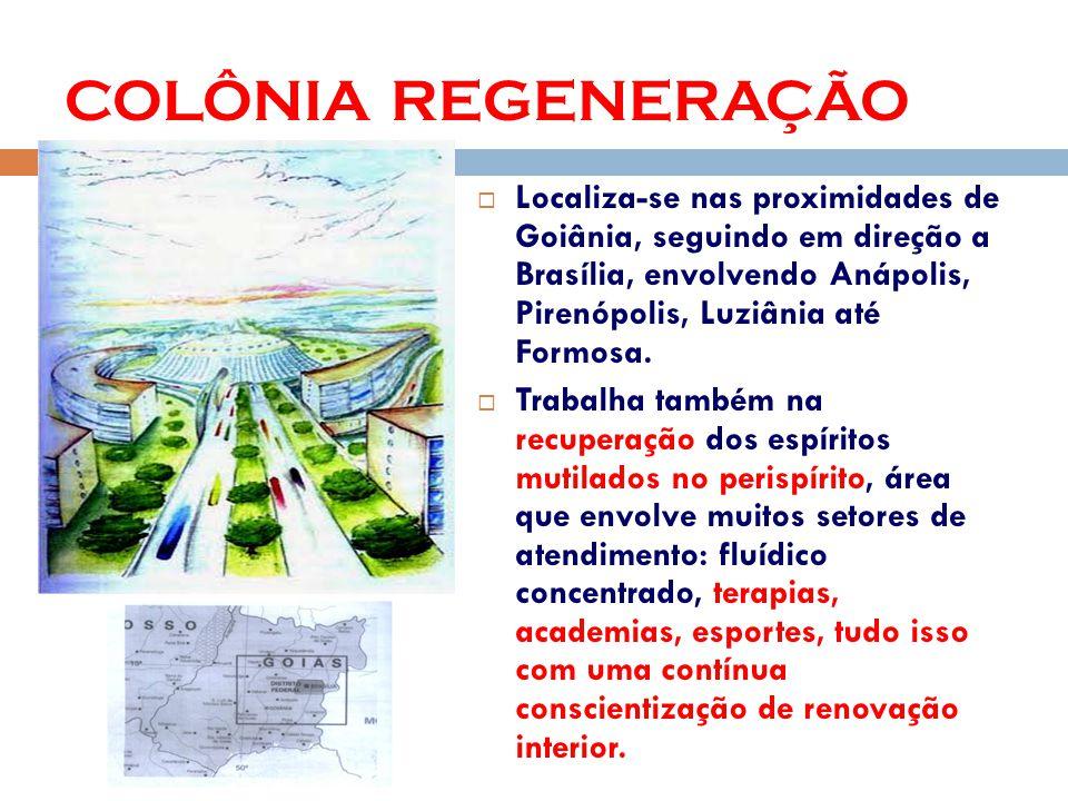 Localiza-se nas proximidades de Goiânia, seguindo em direção a Brasília, envolvendo Anápolis, Pirenópolis, Luziânia até Formosa.