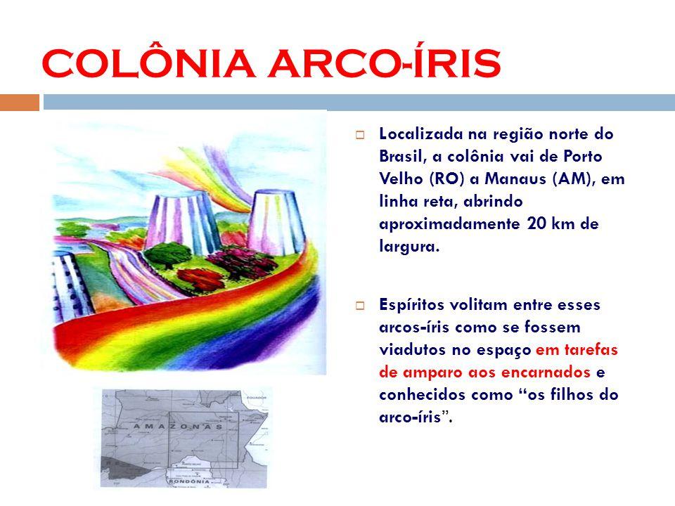 Localizada na região norte do Brasil, a colônia vai de Porto Velho (RO) a Manaus (AM), em linha reta, abrindo aproximadamente 20 km de largura.