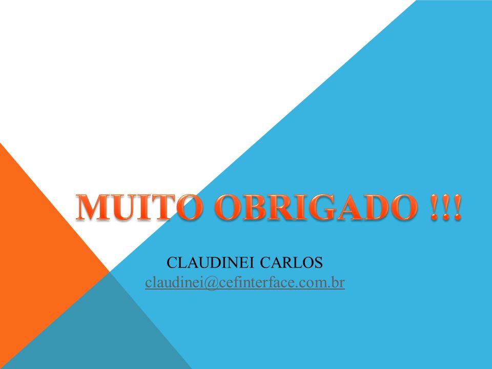 CLAUDINEI CARLOS claudinei@cefinterface.com.br claudinei@cefinterface.com.br