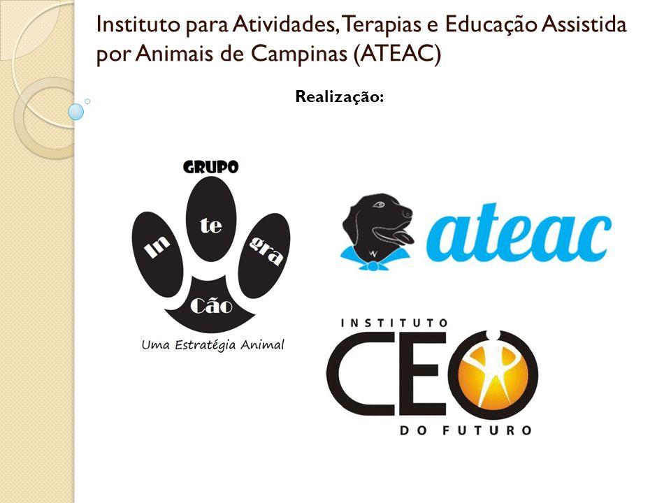 Instituto para Atividades, Terapias e Educação Assistida por Animais de Campinas (ATEAC) Realização: