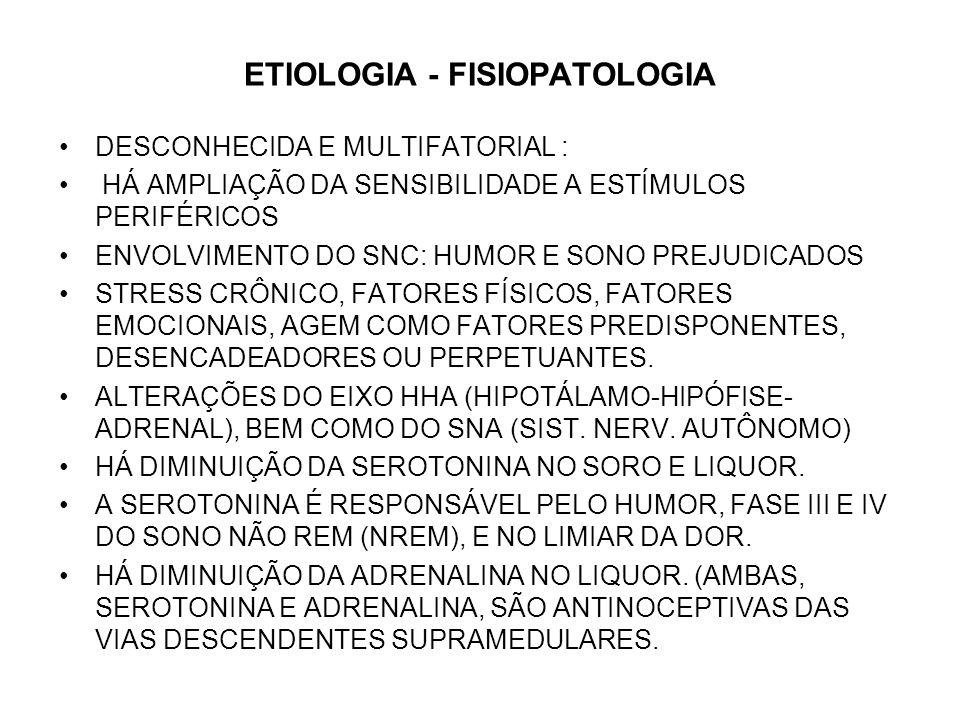 ETIOLOGIA -FISIOPATOLOGIA (CONT.) SUBS.