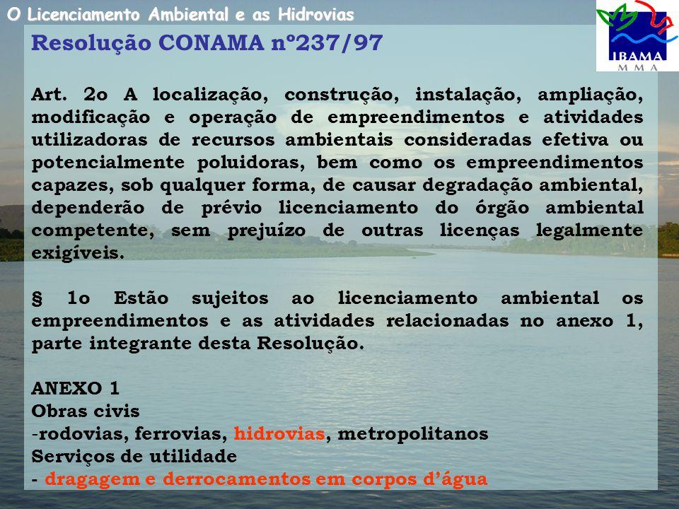Resolução CONAMA nº237/97 Art.