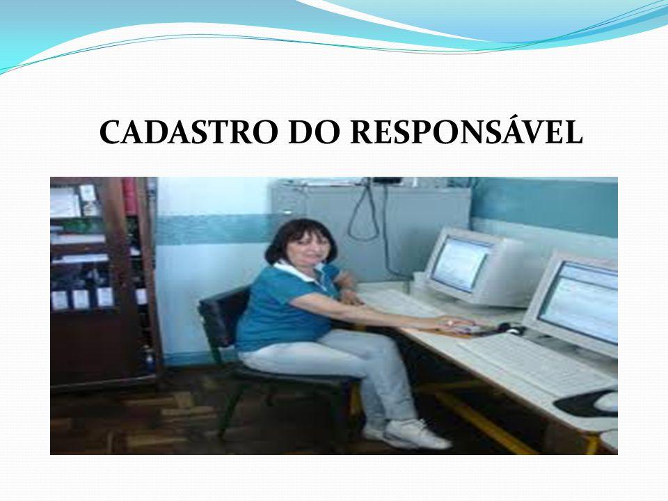 CADASTRO DO RESPONSÁVEL
