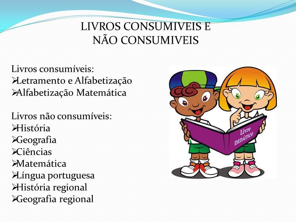 RECEBENDO LIVROS O FNDE enviará a Carta Azul com informações dos quantitativos de livros adquiridos para a sua escola.