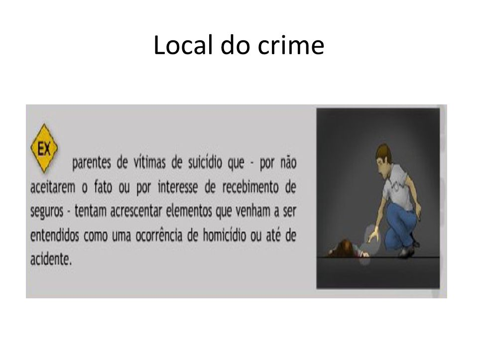 Local do crime