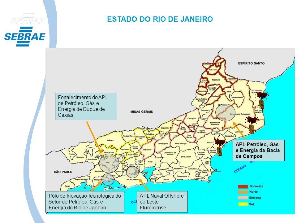 Pólo de Inovação Tecnológica do Setor de Petróleo, Gás e Energia do Rio de Janeiro Fortalecimento do APL de Petróleo, Gás e Energia de Duque de Caxias