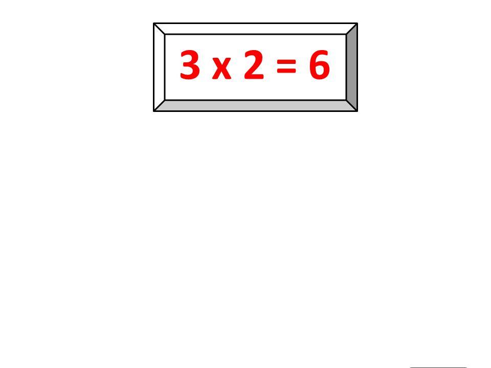 3 x 1 = 3 3