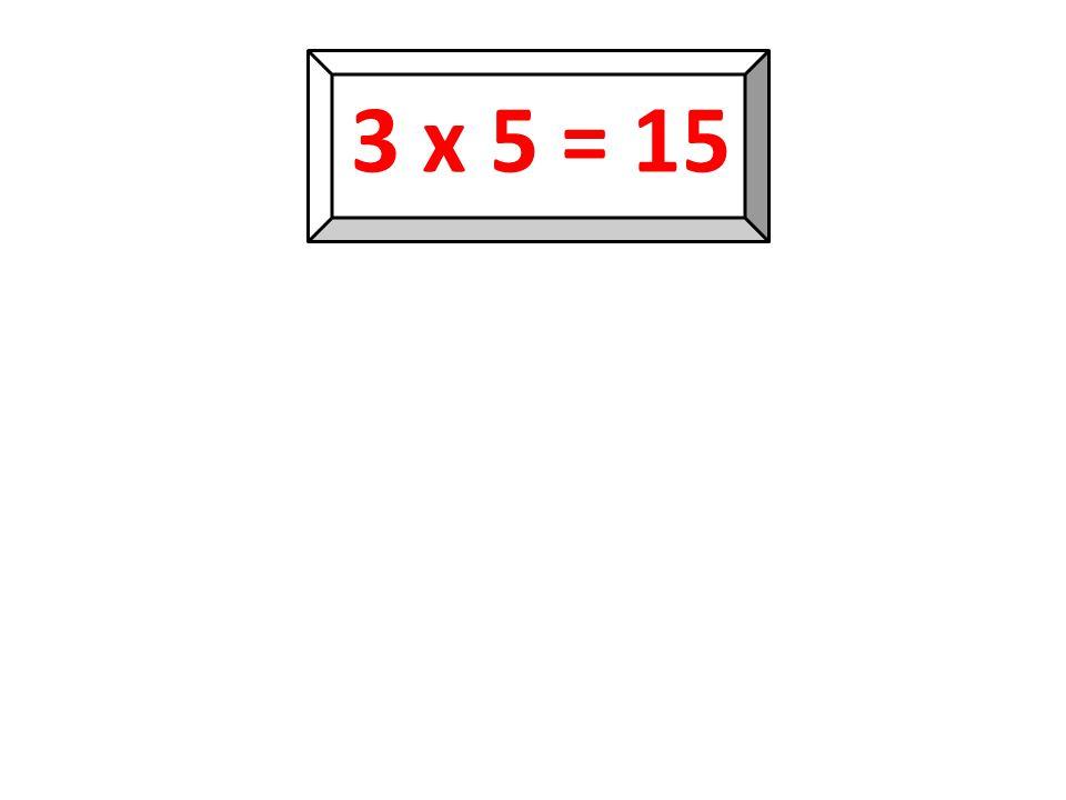 3 x 4 = 12 12