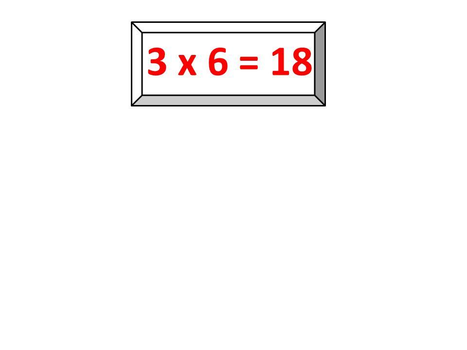 3 x 5 = 15 15