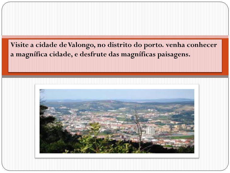 Visite a cidade de Valongo, no distrito do porto. venha conhecer a magnífica cidade, e desfrute das magníficas paisagens. Visite a cidade de Valongo,