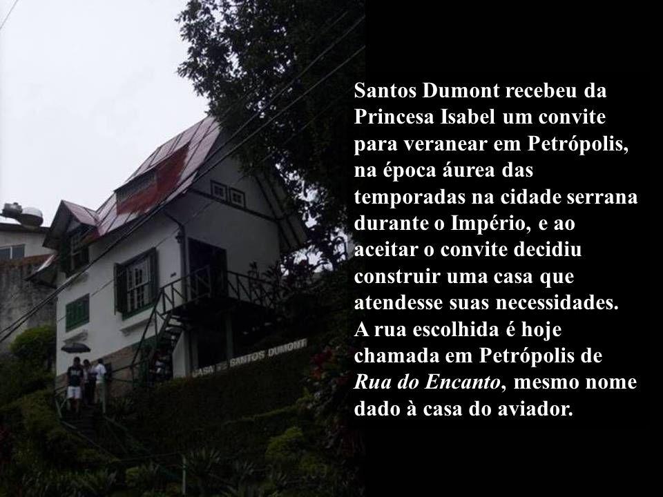 Museu Casa de Santos Dumont, mais conhecida como A Encantada