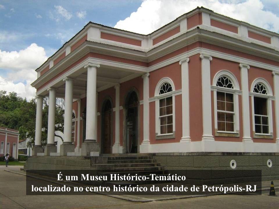 O Museu Imperial, popularmente conhecido como Palácio Imperial