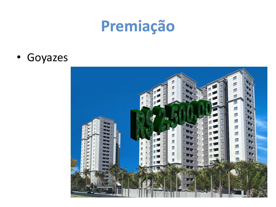 Premiação Goyazes