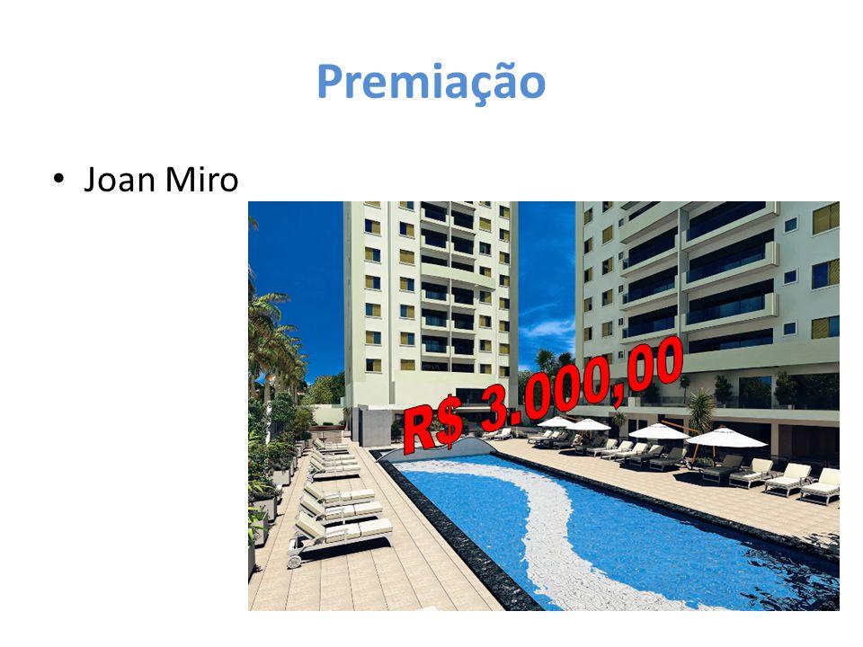 Premiação Joan Miro